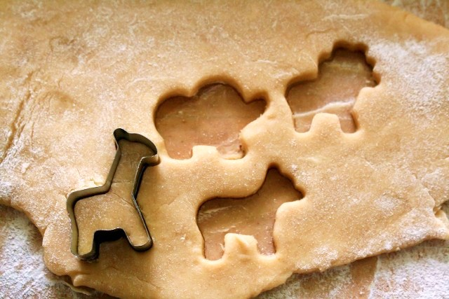 ... identical to animal crackers, but they made a yummy cookie/cracker