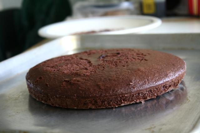 brought cake chocolate cake